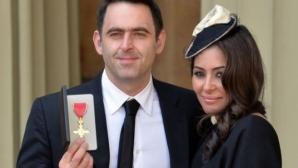 Жената на Рони О'Съливан се скрила във фризер от атентата в Барселона