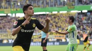 Волфсбург - Дортмунд 0:2 на почивката (гледайте тук)