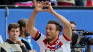 Победен гол в Хамбург и контузия при радостта