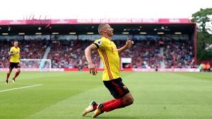 Ново силно представяне на Уотфорд, Ричарлисон с първи гол в Премиър лийг (видео)