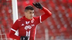 Бранител пропуска мача на ЦСКА-София с Берое
