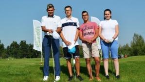Младежи от школата на Пирин Голф и Кънтри Клуб грабнаха големите награди на 4-ия турнир Sena & Steli Golf Cup