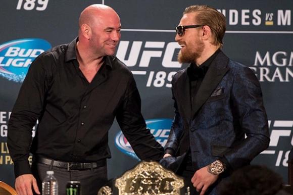 Дейна Уайт готов да направи Макгрегър акционер в UFC