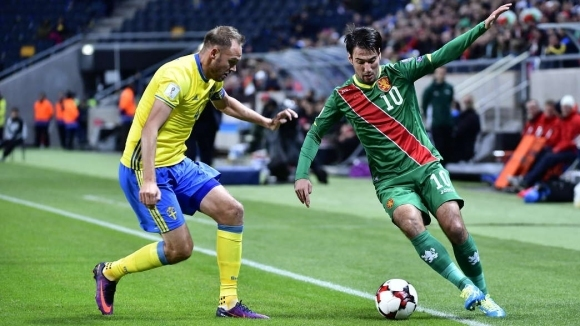 Билетите за България - Швеция в продажба от утре