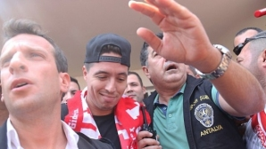 Насри напусна Ман Сити след шест години в клуба