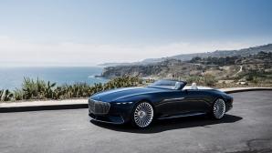Mercedes представи стилен електрически кабриолет, какъвто не се вижда често