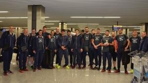 Националите пристигнаха в Краков