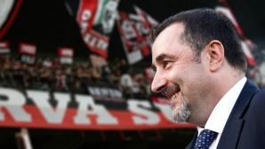 """Фиорентина се оплака от """"очернящо"""" изказване на шеф на Милан"""