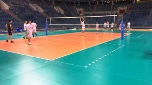 Волейболистите с първа тренировка в Краков