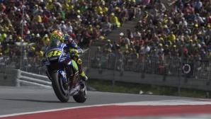 Валентино Роси продължава да пише история със старт №300 в MotoGP