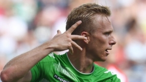 Четири гола в Аугсбург (видео)