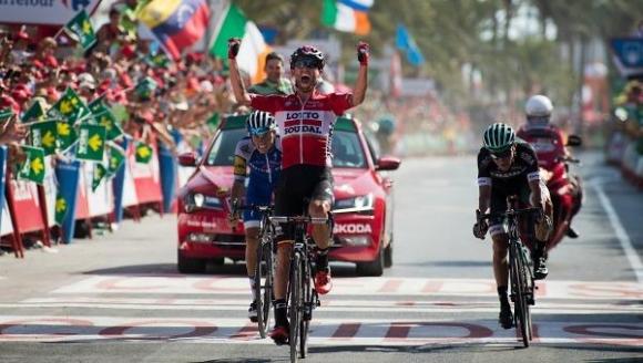 Томаш Марчински взе втора етапна победа в тазгодишната Вуелта