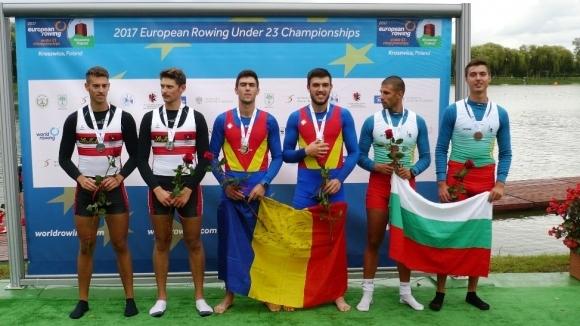 Рангел Кацарски и Станимир Халаджов с бронзови медали