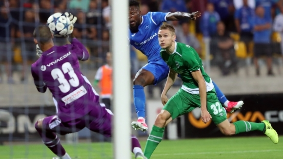 """Левски не се даде на Лудогорец, """"сините"""" играха 45 минути с човек по-малко (видео+галерия)"""