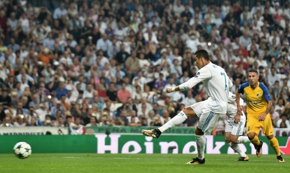 Реал Мадрид е рекордьор по получени дузпи в ШЛ