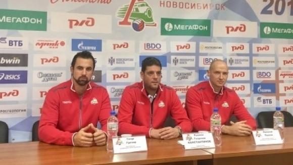 Пламен Константинов: С Локомотив се целим в призовите места