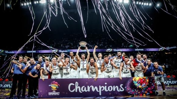 Смелост, страст и сърце! Словения покори Европа за първата си титла!
