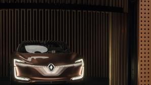 Renault показа Symbioz: Електрически, свързан, автономен автомобил