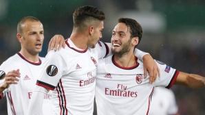 Петзвезден Милан громи на старта на Лига Европа (видео)