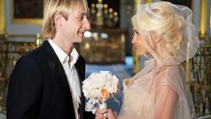 Плюшченко с църковен брак осем години след гражданския