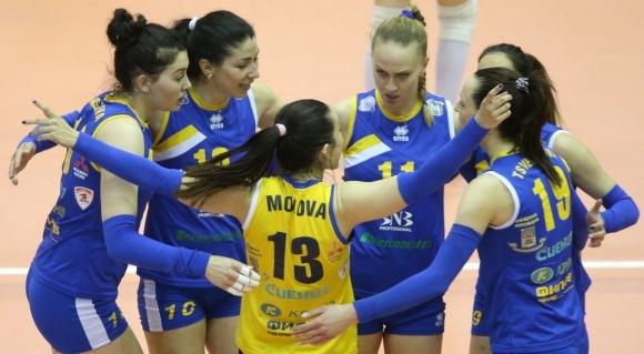 Добър мач на Марица срещу елитен руски тим