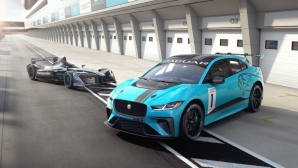 Jaguar представя изцяло електрически серии с I-Pace eTROPHY (Снимки)