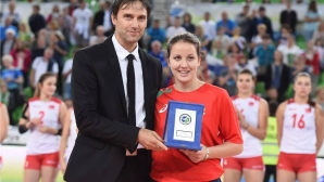 Жана Тодорова е либеро №1 на Мондиал 2017