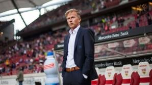 Треньорът на Волфсбург Андрис Йонкер беше уволнен днес