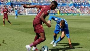 Барселона обвинява Хетафе за тежката контузия