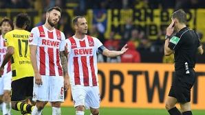 Искат преиграване на Борусия (Д) - Кьолн заради нередовен гол