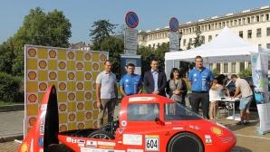 Студенти от Техническия университет показаха своя автомобил от Shell Eco-marathon