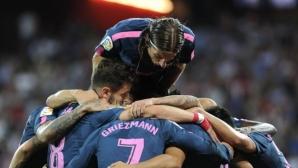 """Атлетико традиционно укроти """"лъвовете"""" в Билбао"""