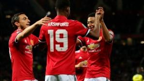 Манчестър Юнайтед громи и за Купата на Лигата