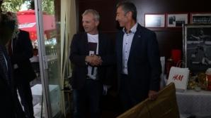 Марков: Надявам се да празнуваме титлата
