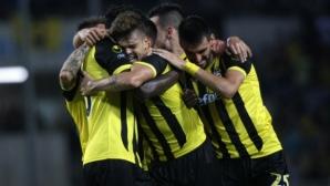 Локомотив (ГО) - Ботев (Пловдив) 1:0, греда за гостите