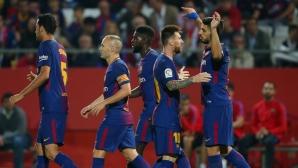 Барселона отупа комшии и продължава перфектния си ход (видео+галерия)