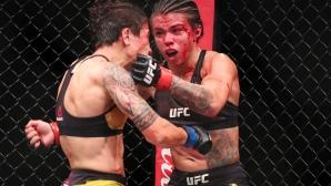 Кървава касапница в женски ММА бой