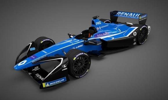 Renault e.dams чества трета титла във Формула Е и представя нови цветове за сезон 4