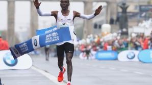 Кипчоге все още мисли за световен рекорд