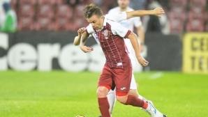 Пламен Илиев пусна 3 гола срещу лидера в Румъния