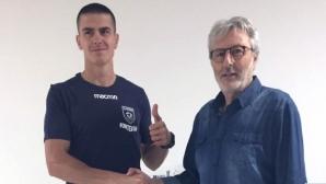 Иван Крачев с отличен дебютен мач в Италия