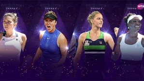 Официално: Ясни са още четири участнички във Финалите на WTA