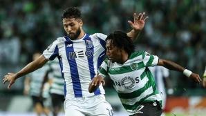 Спортинг спря победния ход на Порто (видео)