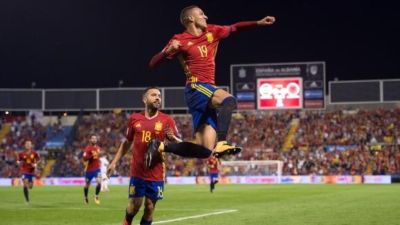 Испания вече е на Световното след нова убедителна победа (видео+галерия)