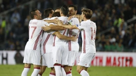 Испания завърши със стил (видео)