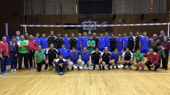 Левски загуби в 5 гейма контрола срещу националния отбор на Алжир (снимки)
