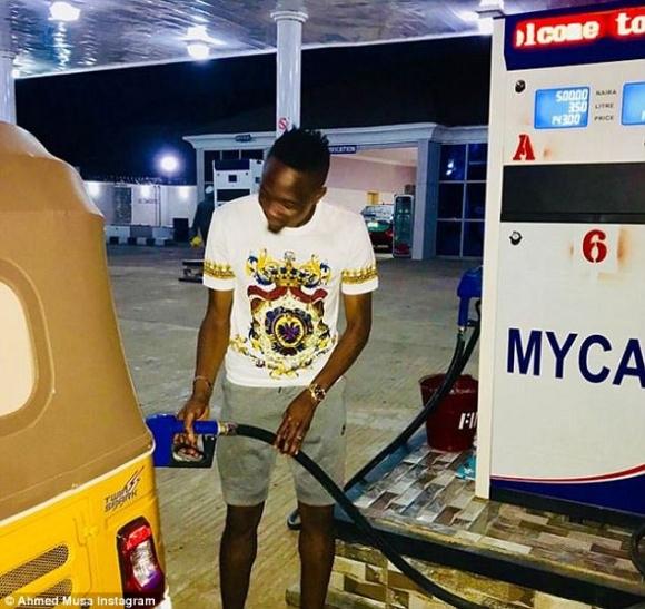 Звезда на Лестър отвори втора бензиностанция