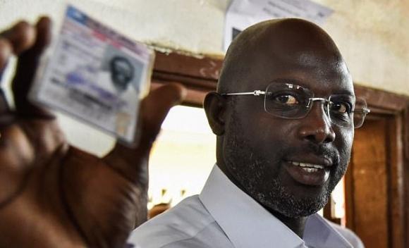 Джордж Уеа стана президент на Либерия