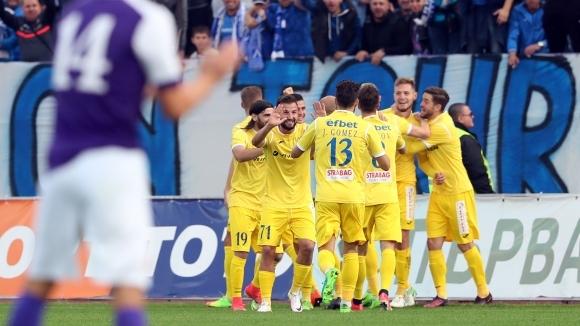 """Отново Яблонски е герой за """"сините"""" (видео+галерия)"""