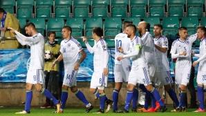 Босна стигна до късна победа, но чудо нямаше (видео)